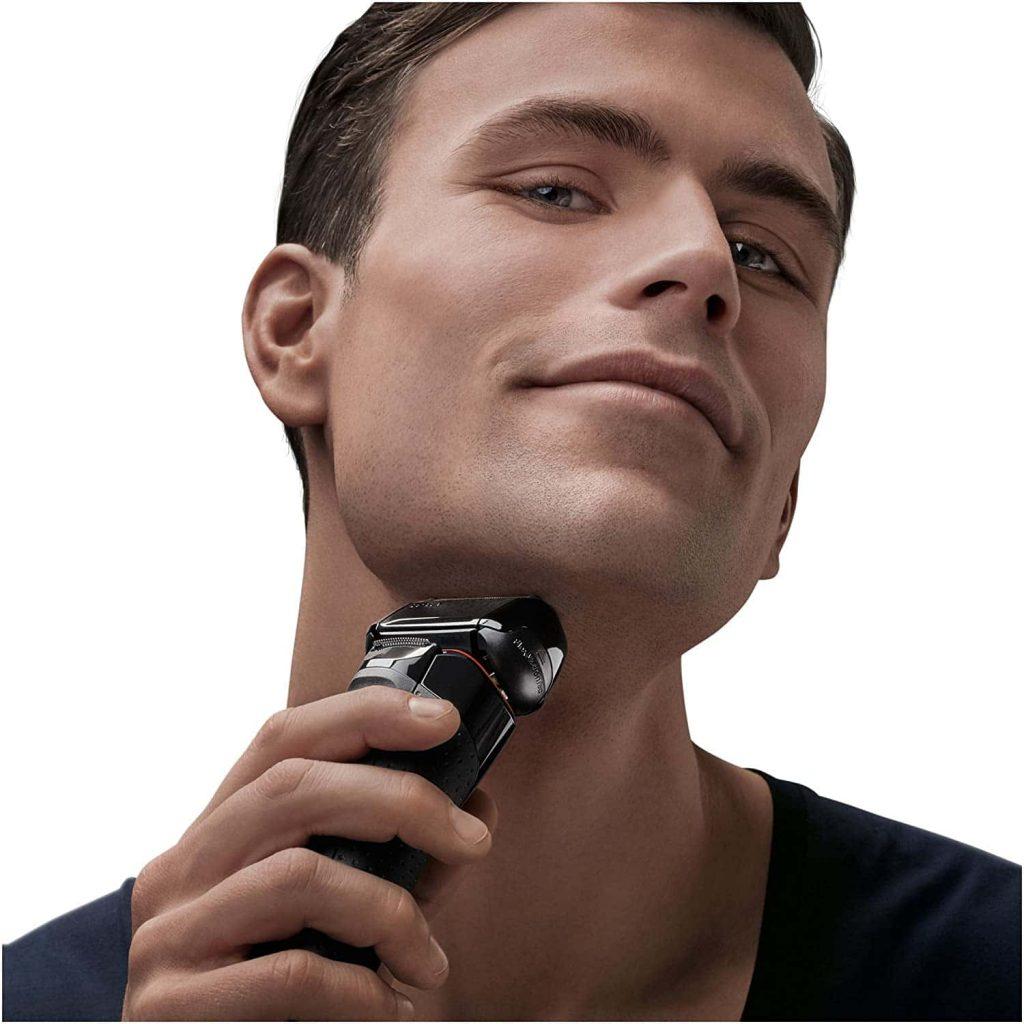 Braun 5030 Series 5 - Afeitadora Eléctrica Hombre, Afeitadora Barba, Recortador de Precisión Extraíble, Recargable e Inalámbrica